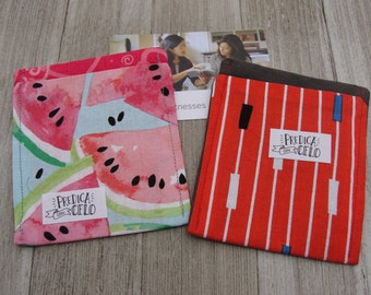 Spanish Set of 2 Contact Card Holders  (Ministry Accessory)