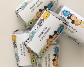 Tsum Tsum  Mini Candy Wrappers