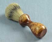 Red Melee Burl Shaving Brush, 20mm