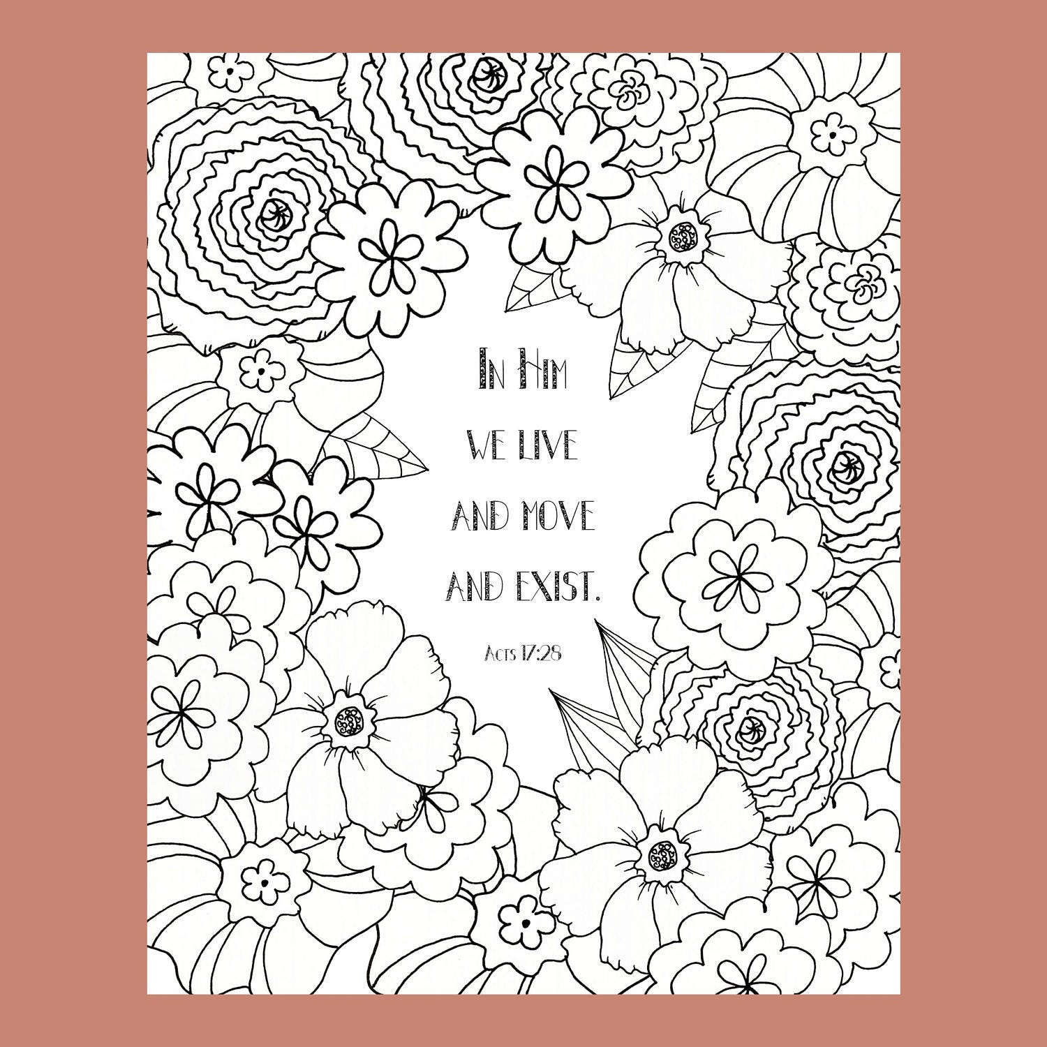 acts 17 25 coloring page bible verse coloring page christian