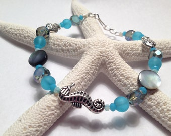Seahorse and Fish Bracelet