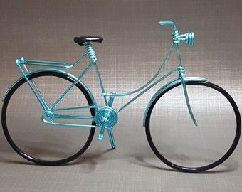 Bike Dutch Miniature / Dutch bike in aluminum wire