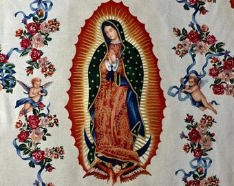 Alexander Henry - Virgin of Guadalupe - M6195XR - Tea