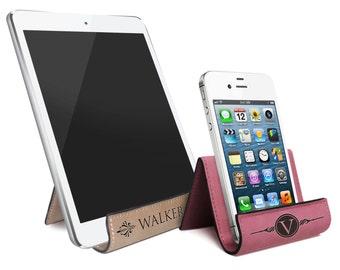Personalized iPhone Stand, iPad Holder, Cell Phone Stand, iPhone 7 Holder, Tablet Stand, Phone Accessories, Smartphone Stand iPad Mini Stand