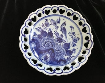Blue Delft Candy/Trinket Dish