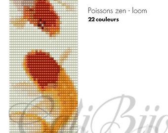 Poissons zens II - LOOM PATTERN