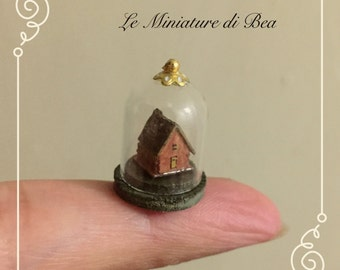 1/48 set dollshouse miniatures 1/4 vintage wood hand made by Bea
