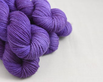 NEW Marvellous Aran 100g British Blue-faced Leicester (BFL) / Baby Alpaca Yarn - Aran Weight Hand Dyed