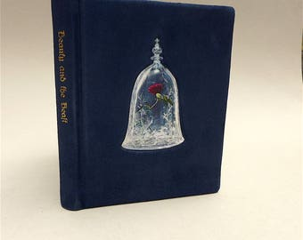 Beauty and the Beast - Disney - Leather-bound - Book