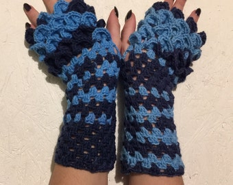 new dragon scale gloves Fingerless  Gloves women fingerless gloves crochet women's gloves dragon scale women's Arm Warmers gift Accessory