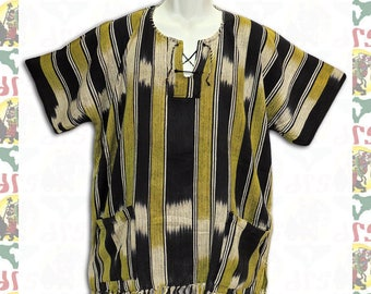 Ethiopian Traditional Wolayita Shirt L (m-a115)