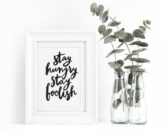 Art print - Stay Hungry
