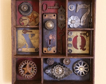 Rusty Things - Found Object Assemblage