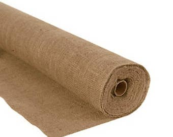 """15 Yards of 72"""" Inch Wide Burlap Roll"""