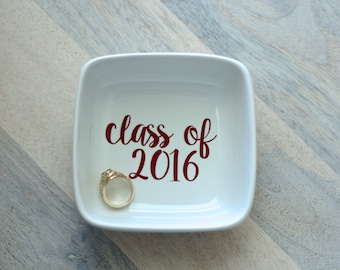 Class of || Texas Aggie Ring Dish