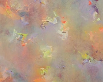 """Only Light, an 18x18"""" original abstract painting!"""