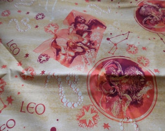 Leo Fabric by the Yard / Sewing / Floral Fabric / 1 Yd Fabric