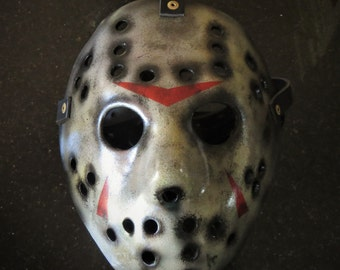 Jason Voorhees Friday The 13th Fibreglass hockey mask VS Freddy