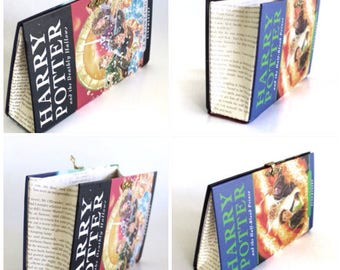 2 x Geeky Book Clutch Harry Potter and the Deathly Hallows and the Half Blood Prince Purses