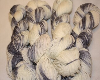 Superwash Hand Dyed Sock Yarn:  Wisp