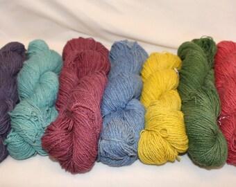 Traveler Sock Yarn:  Alpaca/Camel/Angora