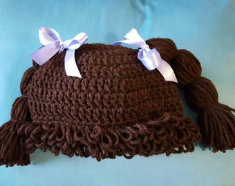 Baby Cabbage Patch Hat