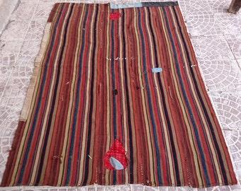 Vintage  TURKİSH  Kilim   RUG 70x51