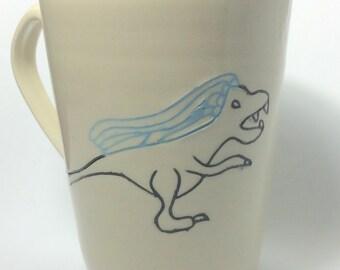 Bridezilla - Dinosaur Mug - Ceramic Mug - Bride to be gift