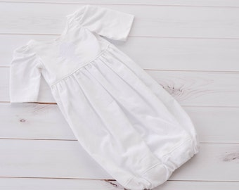 Baptism Gown - Baptism Outfit - Christening Gown - Catholic Baptism - Baptism Gown Boys - Baptism Gown Girls - Irish Cross - Custom
