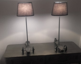 Second Speedy Rollers lamps
