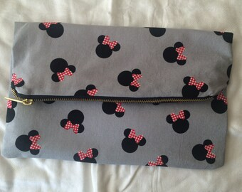 Minnie Mouse Fold-Over Clutch