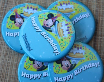 Happy Birthday Buttons