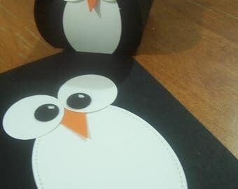 Penguin Gift Box and Card