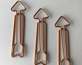 Arrow Paper Clips 3 count