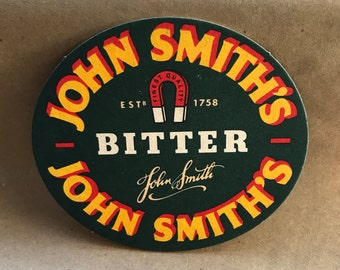 SET OF 4 John Smith's Bitter Pub Coasters
