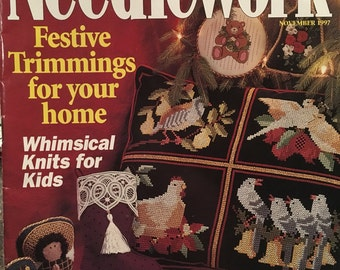 McCalls Needlework November 1997