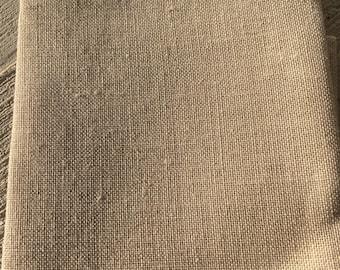 Raw Linen Cross Stitch Fabric