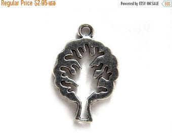 HALF PRICE 6 Silver Tree Charms