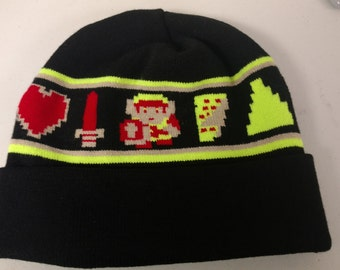 8-Bit Zelda Knit Hat