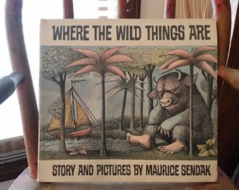 1969 Where The Wild Things Are 1st Printing Scholastic