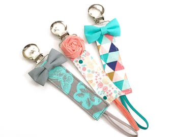 Pacifier Clips - Breeana Collection