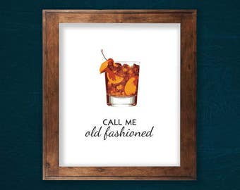 """Call Me Old Fashioned 