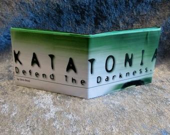 Katatonia Wallet DIY Heavy Metal Upcycled Magazine