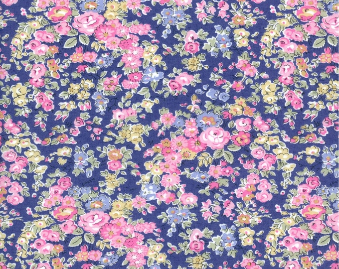 Liberty of London Tana Lawn TATUM K Liberty Fabric Fat Quarter Half Metre Full Metre From the Liberty Classic Collection