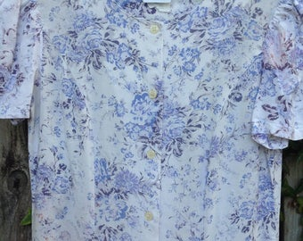 Vintage Laura Ashley Floral Dress/Laura Ashley Easter Dress 8