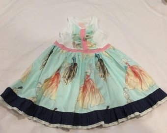 Molly dress aqua moda
