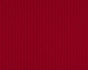 Red Two Toned Stripe Upholstery Fabric By The Yard | Pattern # A131
