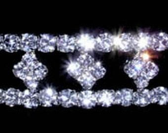 Style # 13622 - Stretch Diamond Shape Bracelet