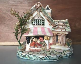 Vintage 'Pendelphin' Fruit Shop collectible ornament kitsch