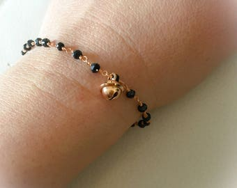 Bracelet with knots and bell